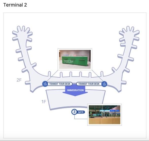 Бесплатный тур в аэропорту Инчхон терминал 2