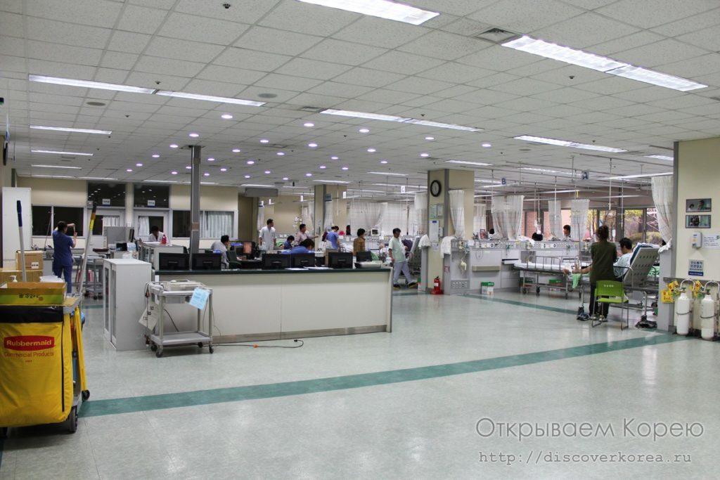Отделение скорой помощи больницы