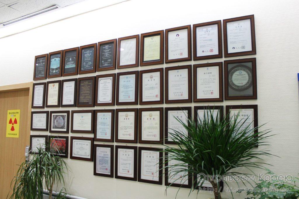 Награды и граммоты клиники