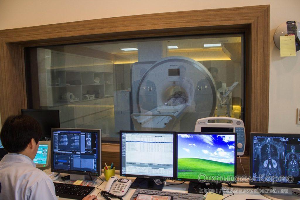 Кабинет МРТ в Южной Корее