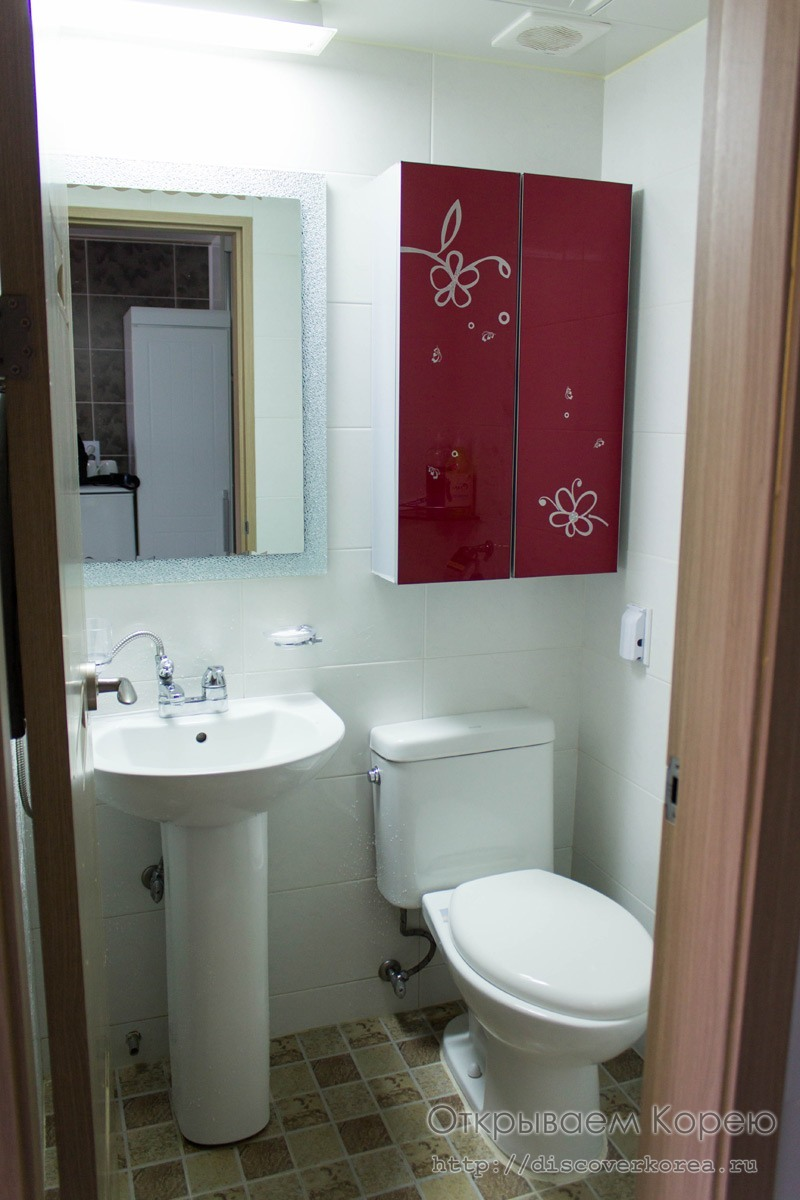 Стей Сеул туалетная комната
