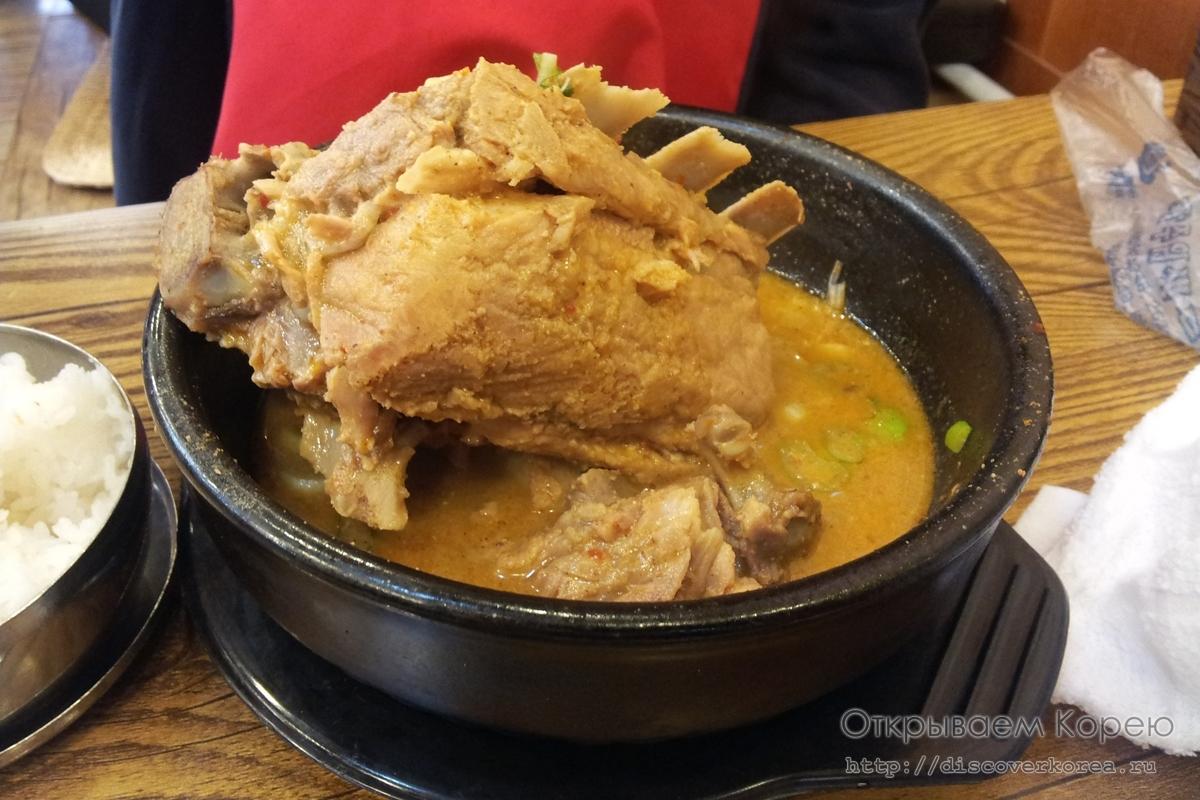 Корейская кухня — Пёхеджангук