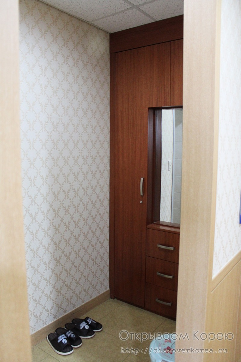 ВИП палата гардероб