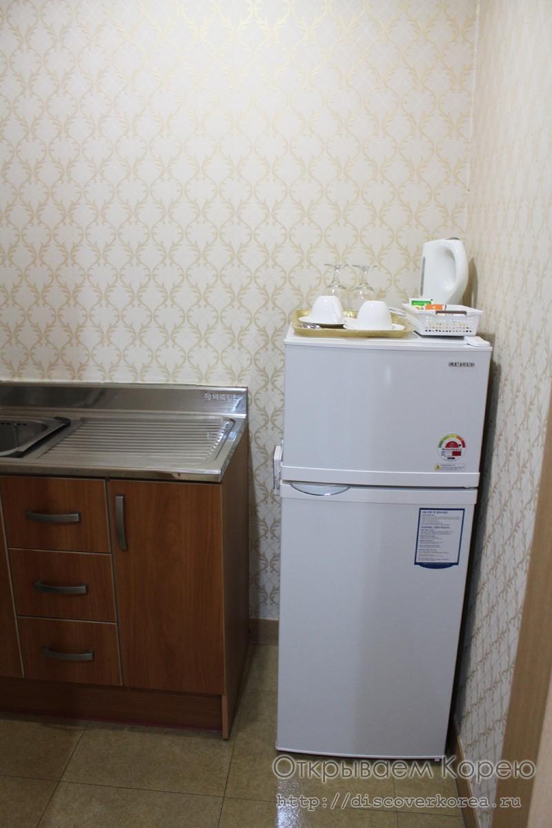 Кухня в ВИП палате