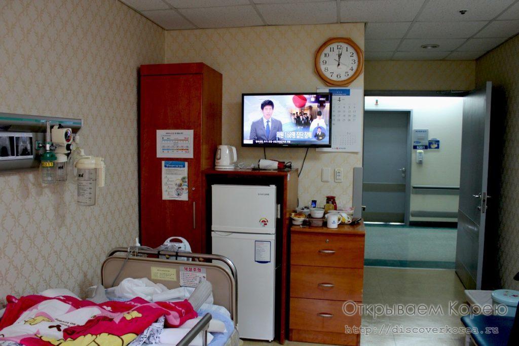 Обычная палата в больнице Чхоннам2