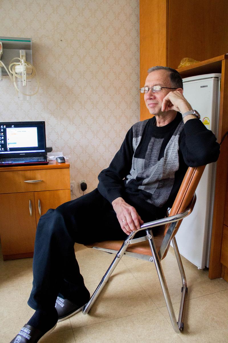 Русские пациенты на лечении в Корее