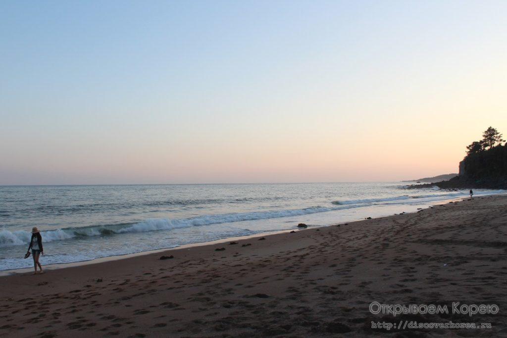 Пляж на Чеджудо