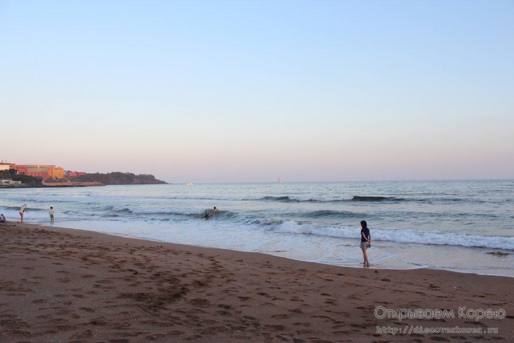 Пляж на Чеджудо1