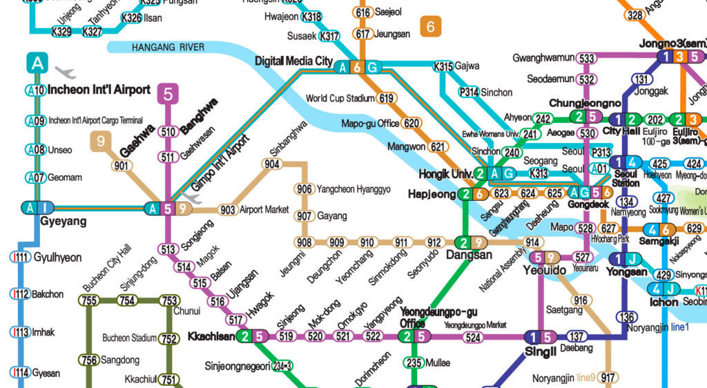 Airport-Inchon-Seoul-map