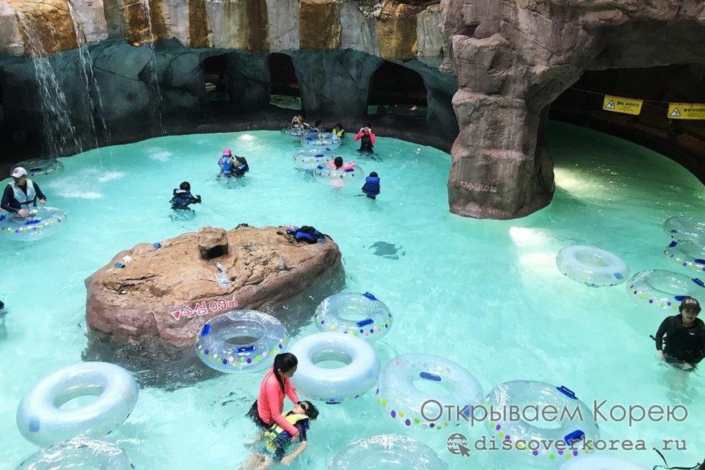 Карибиан Бей - внутренние пещеры парка
