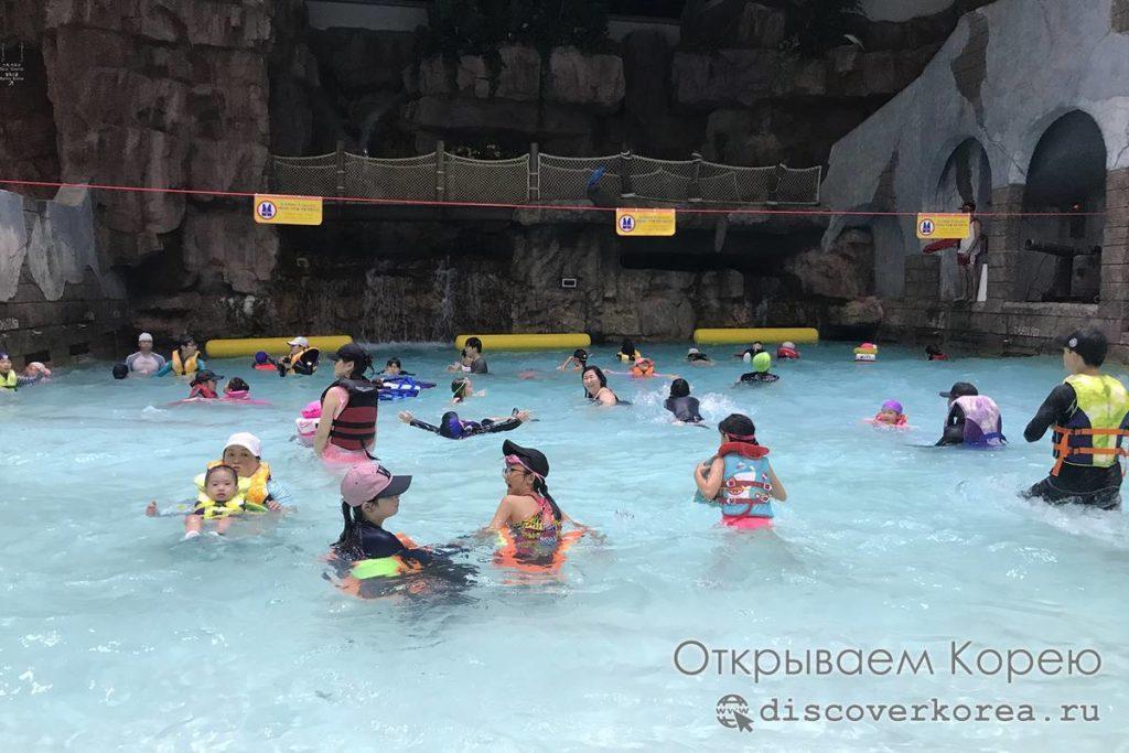 Карибиан Бей - морская волна для детей