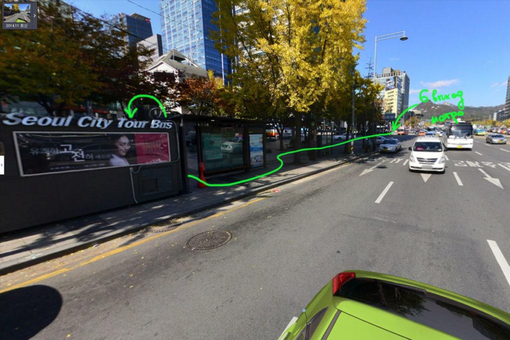City-bus-tour-path