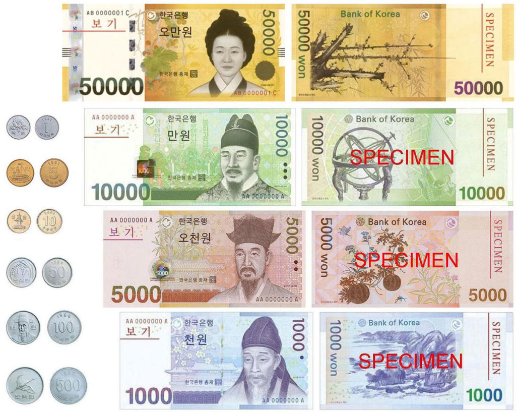 Currency_South_Korea