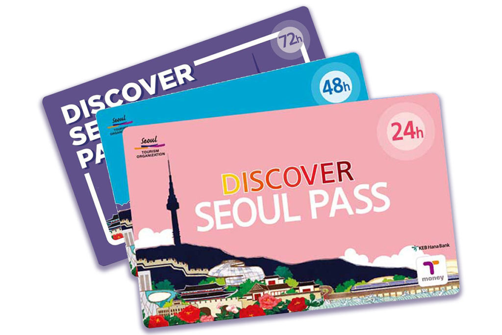 Discover Seoul Pass - типы карт