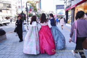 Как арендовать традиционный костюм «ханбок» в Сеуле, Южная Корея