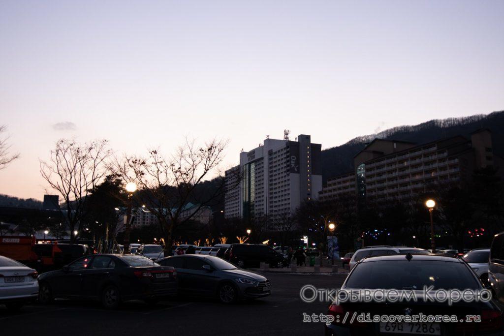 горные лыжи в Корее - Вивальди