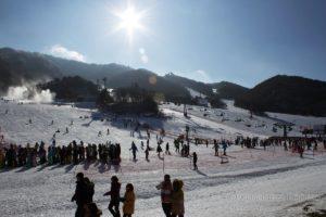 Муджу — горнолыжная база в Корее