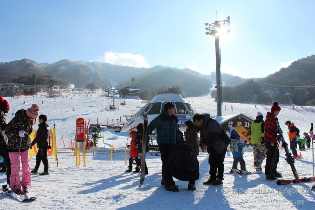 муджу - горнолыжный курорт в Корее - Муджу экспресс