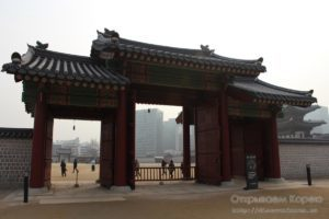 Дворец Кёнбоккун — в фотографиях