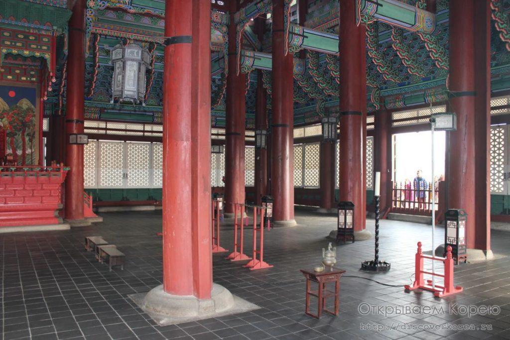 Кёнбоккун-дворец1
