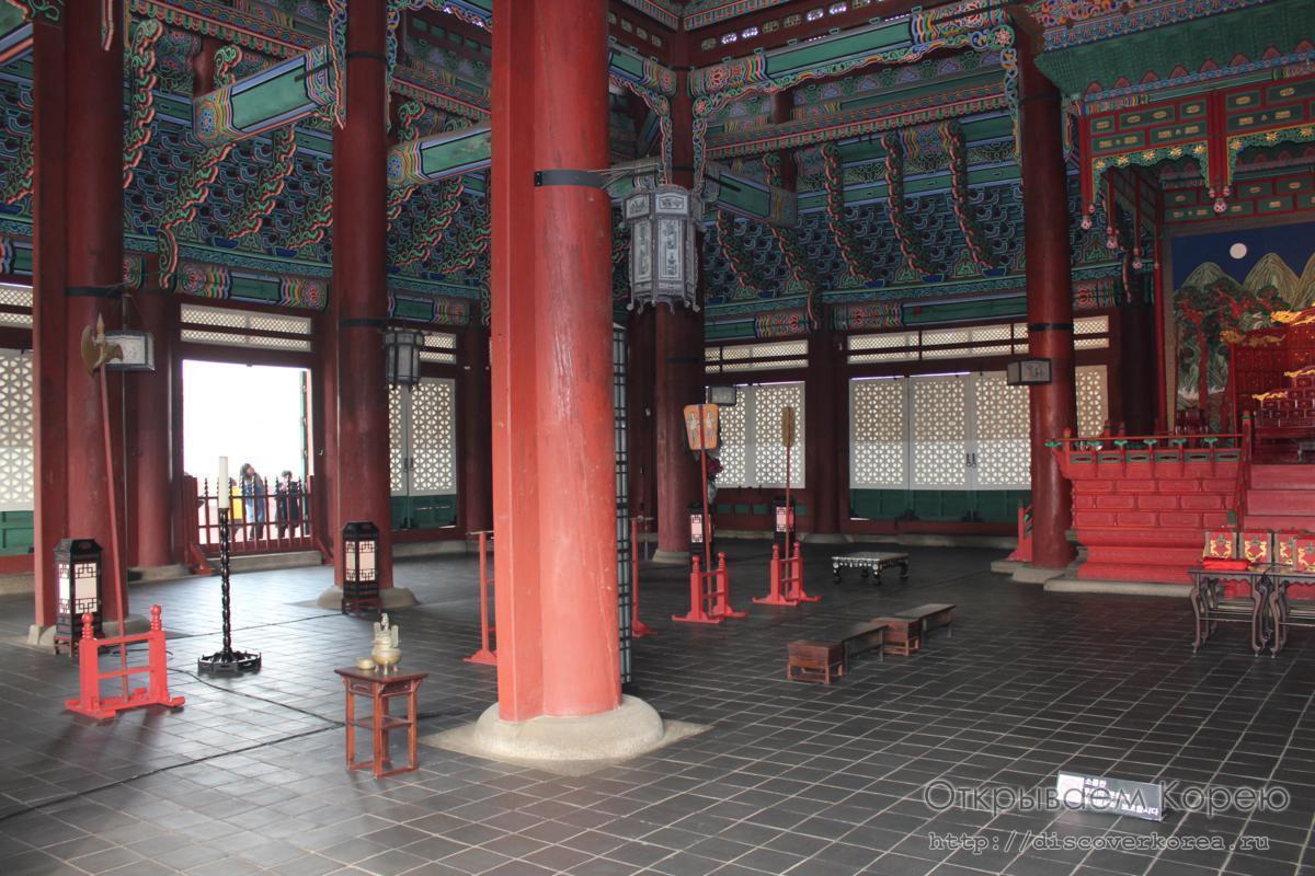 Кёнбоккун-дворец2
