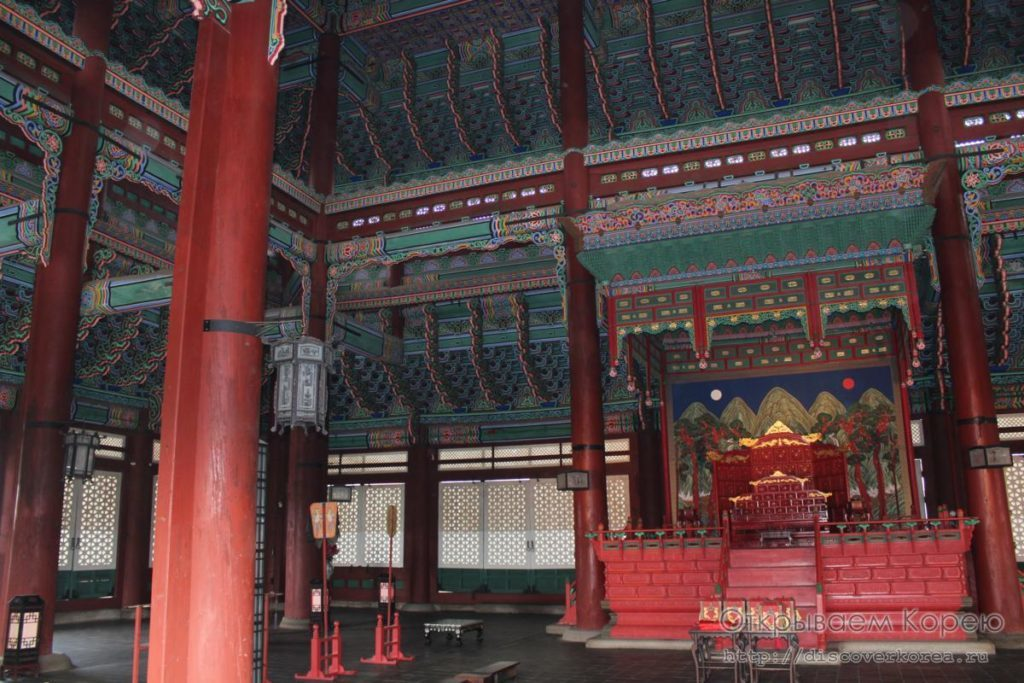 Кёнбоккун-дворец4