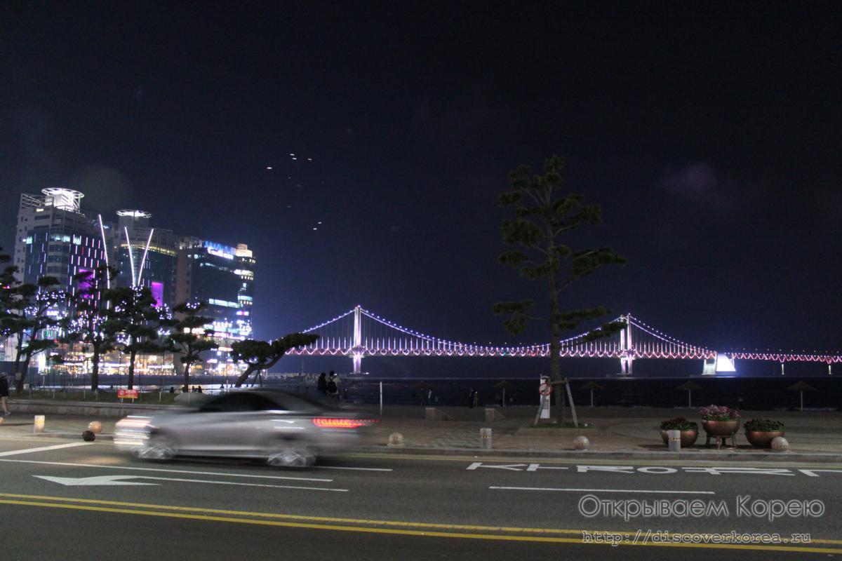 Пляж Кванган в Пусане — Dynamic Busan