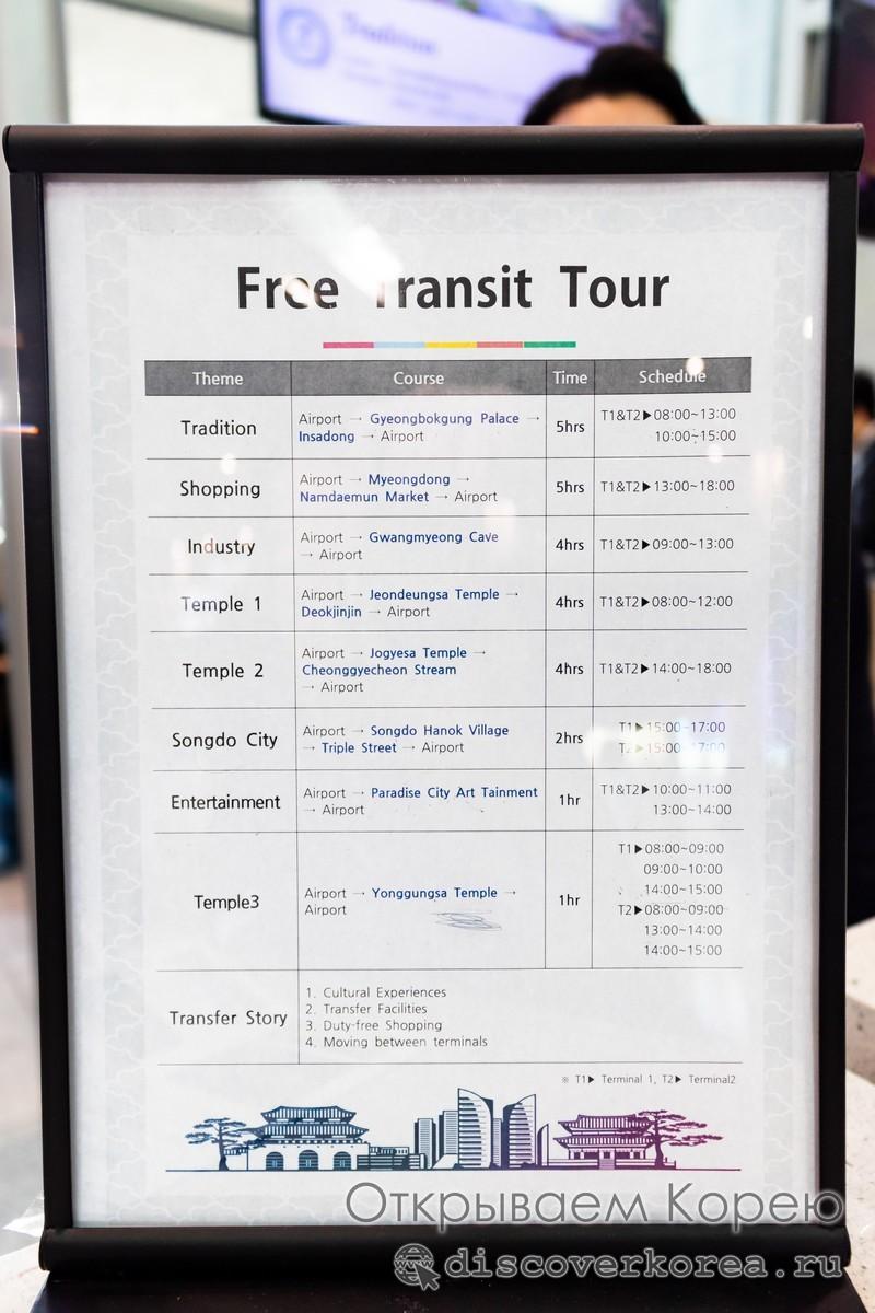 Программа бесплатных туров