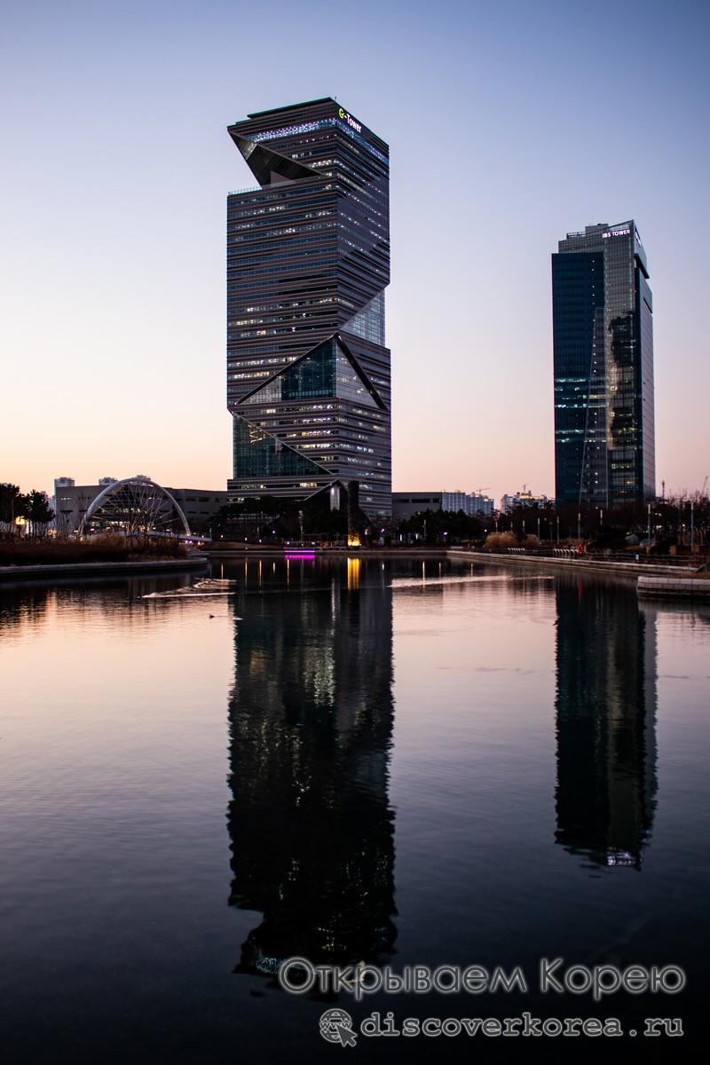 G-Tower обзорная площадка в Корее