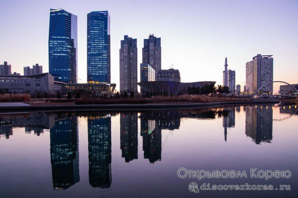 Инчхон G-Tower центральный парк
