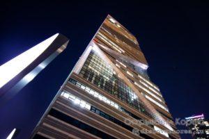 Башня G-Tower и Central Park Songdo в городе Инчхон