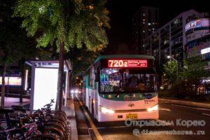 Городские автобусы в Корее