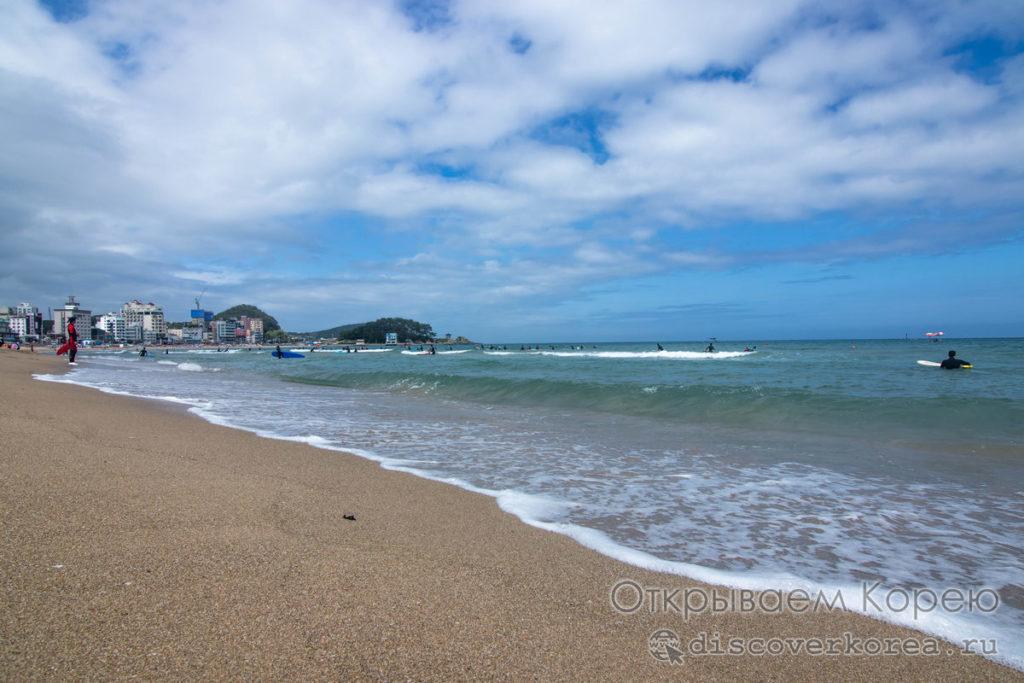 Сонгчонг море Пусана