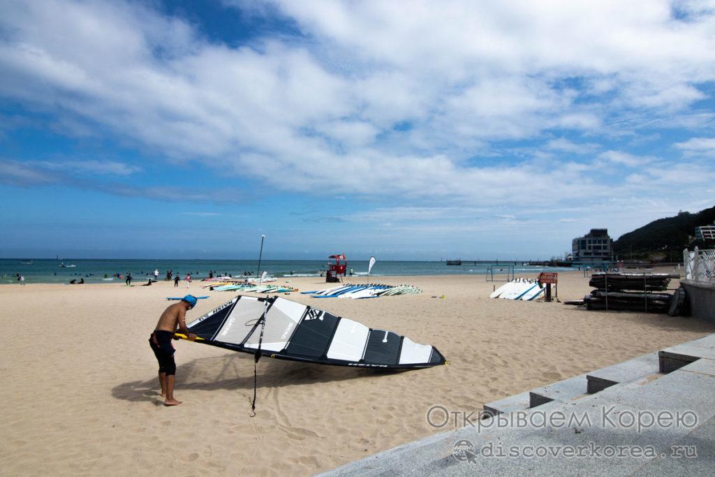 Пляжи Пусана - Сонгчонгдо
