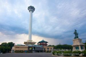Busan Tower — пусанская башня и ночные виды города