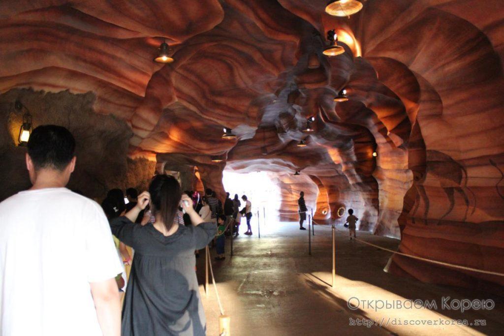 Эверленд-затерянная долина пещера