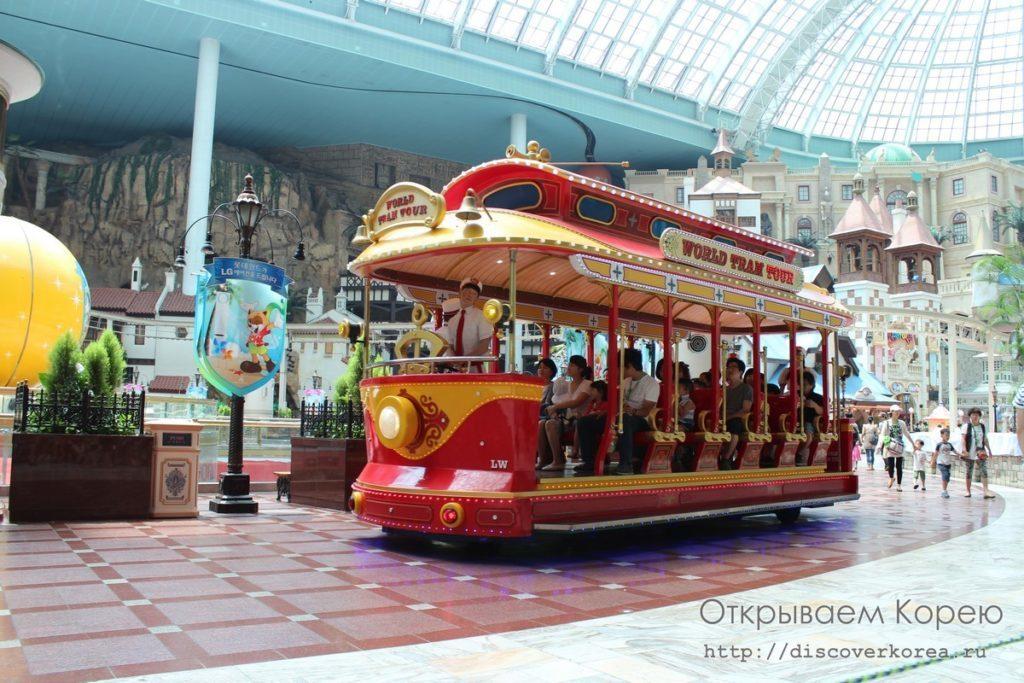 Lotte World - автобус