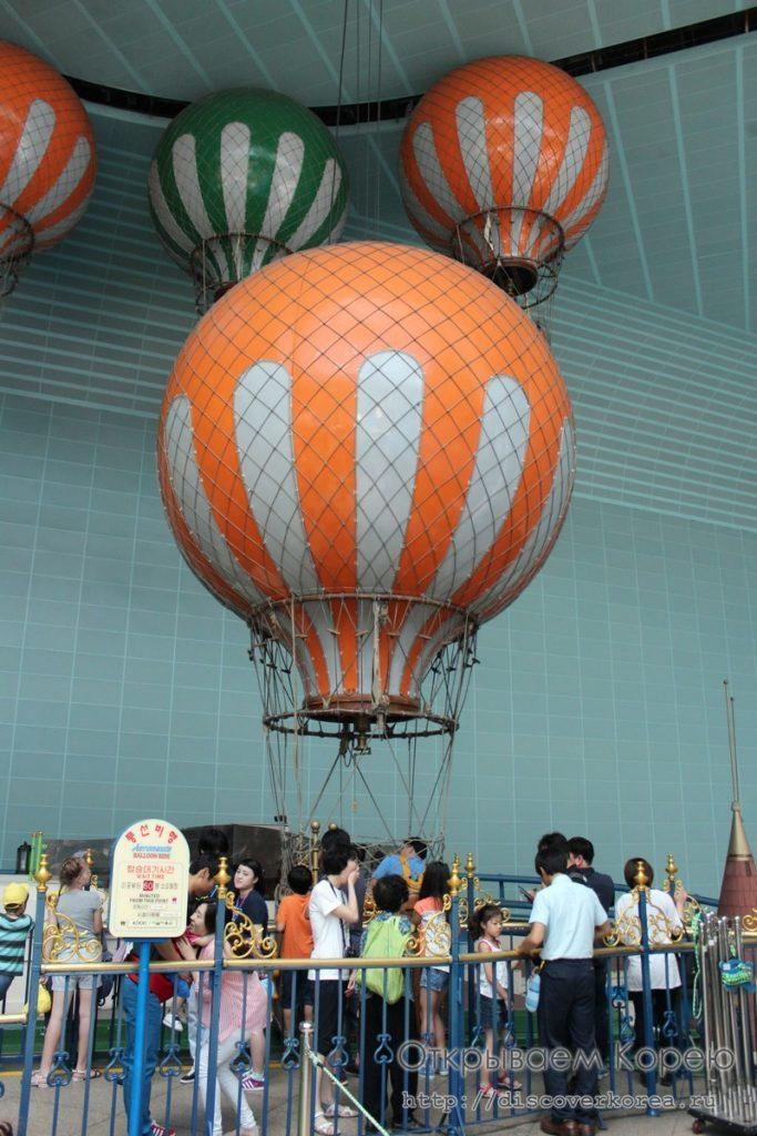 Лотте Ворлд - аэронафт или воздушный шар