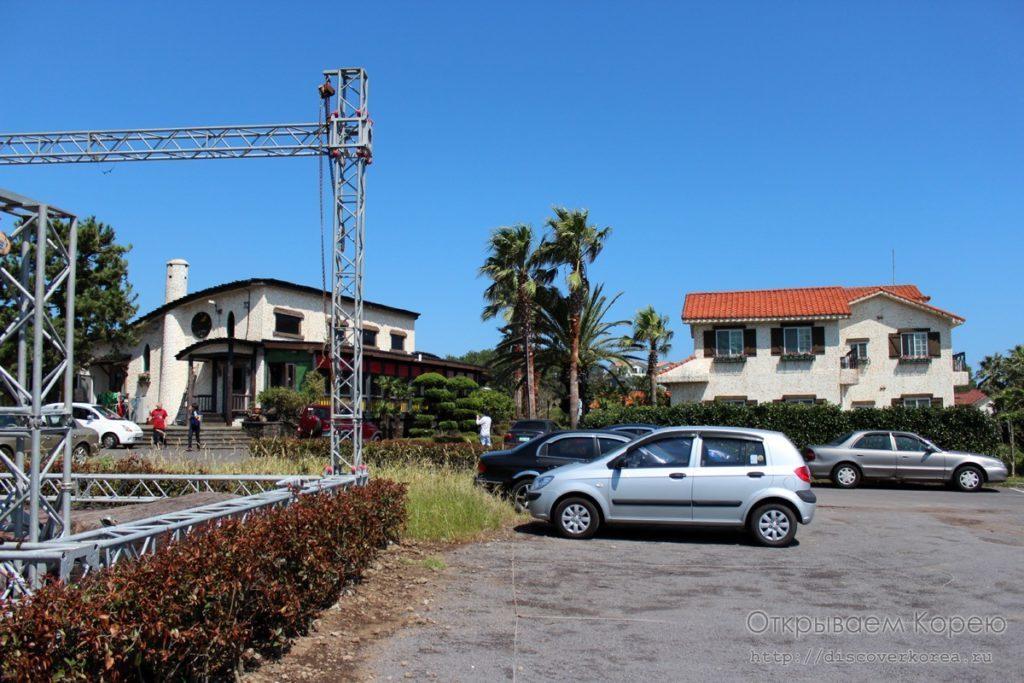 Гостиничный комплекс на Чеджудо