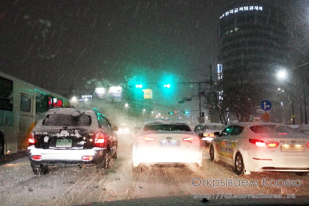 В Корее наступает самая холодная неделя года