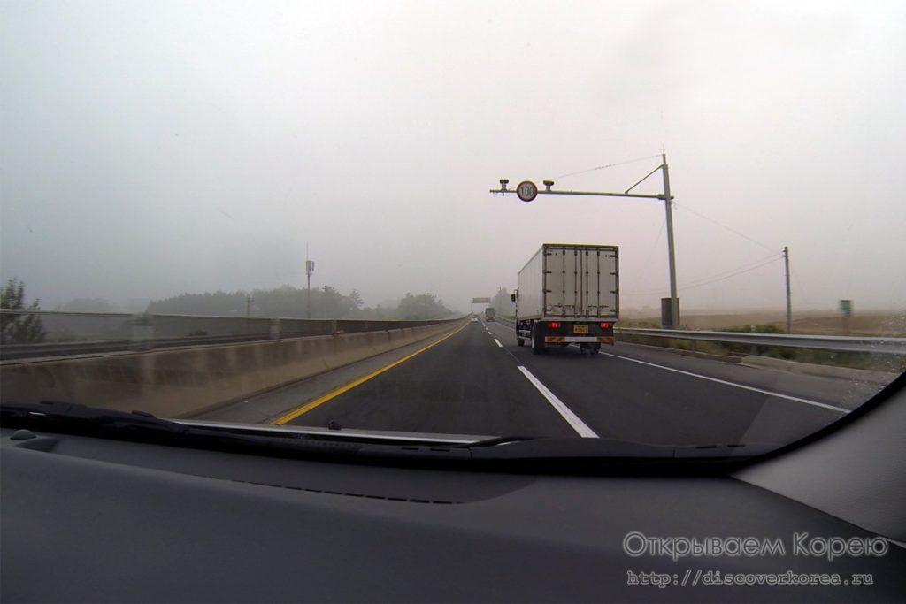 на авто по корее-камера