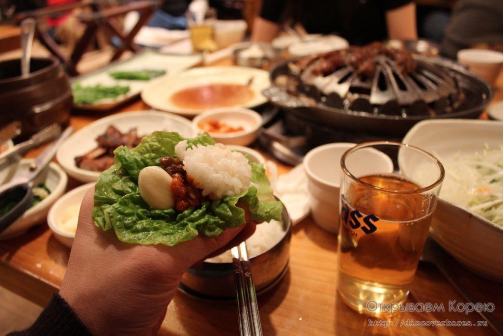 О еде в Корее